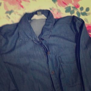 Old navy classic Jean shirt